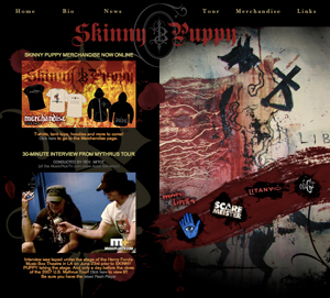Skinny Puppy Website