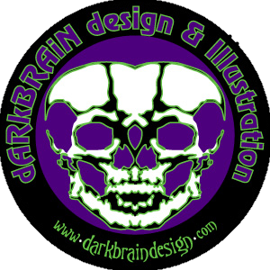 dARkBRAiN design & illustration logo